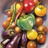 Paprika, Tomate, Gemüse, Garten