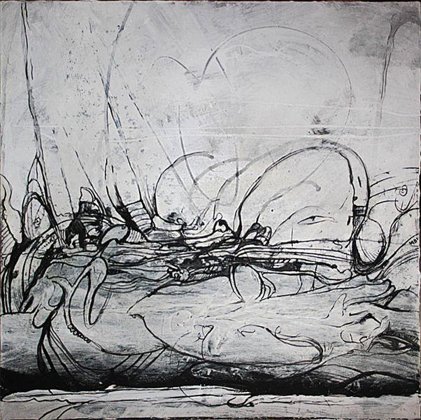 Kurz, Weiß, Schweigeminute, Acrylmalerei, Schwarz weiß, Malerei