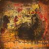 Expressionismus, Verwittert, Acrylmalerei, Oberfläche