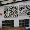 Rot, Terrasse, Kunsthandwerk,