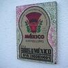 Mexiko, Holzbildträger, Kn17, Mischtechnik