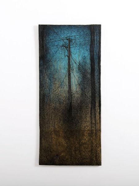 Holz, Malerei, Zeichnung, Objekt, Marker, Gegenwartskunst