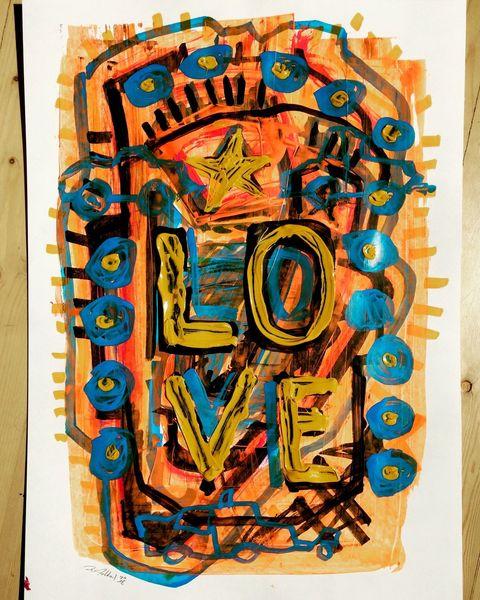 Flipper, Pinball, Liebe, Malerei