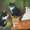 Tiere, Auftragsmalerei, Grün, Haustier