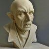 Nosferatu - Nosferatu, Dracula, Vampir, Skulptur, Plastik, Terracotta, Ton