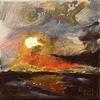 Sonne, Meer, Landschaft, Wolken