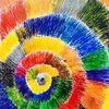 Spirale, Licht, Farben, Formen