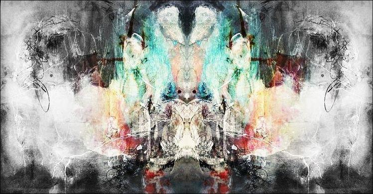 Gestalt, Wesen, Erscheinung, Digitale kunst, Digital