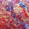 Rot, Abstrakt, Bizarr, Gold