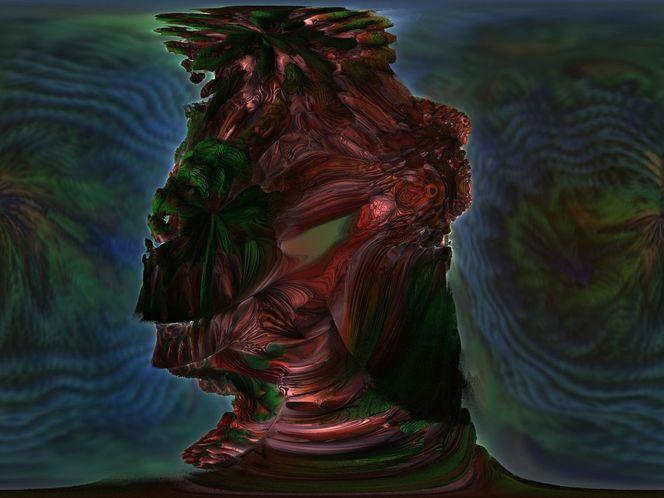 Mars, Homo, Nacht, Kapital, Oberfläche, Kopf