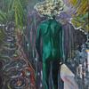 Flucht, Hamburg, Gemälde, Malerei