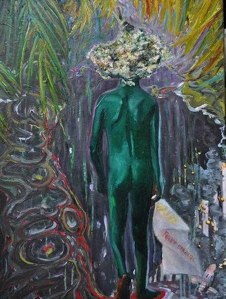 Flucht, Hamburg, Gemälde, Malerei,