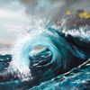 Welle, Wasser, Meer, Malerei