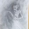 Tod, Böse, Dämon, Zeichnungen