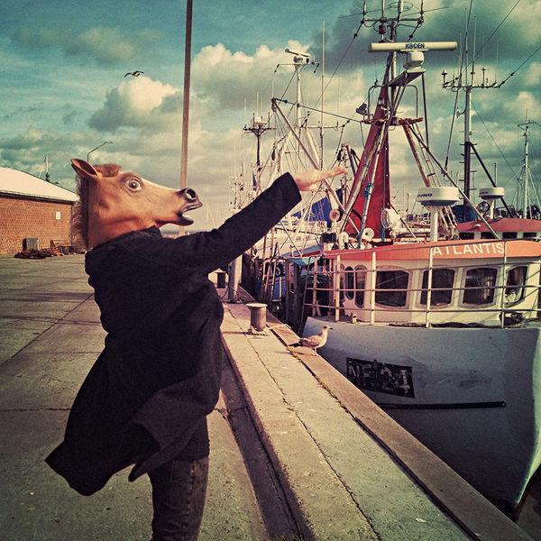 Streetart, Surreal, Portrait, Pony, Atlantis, Hafen