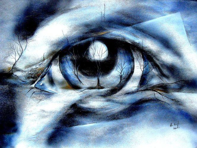 Augen, Fantasie, Malerei