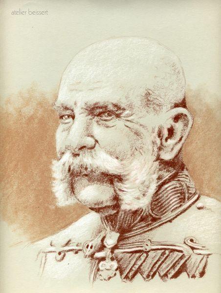 Habsburg, Österreich, Zeichnungen,