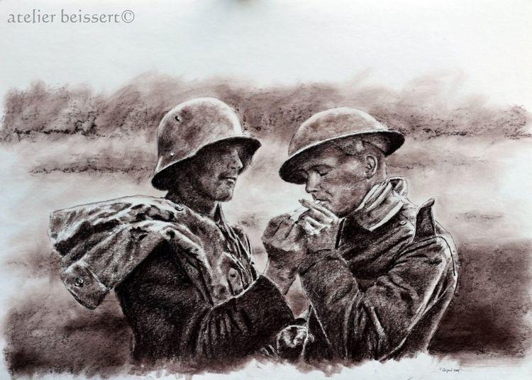 Soldat, Somme, Ww1, Kamerad, Militär, Weltkrieg
