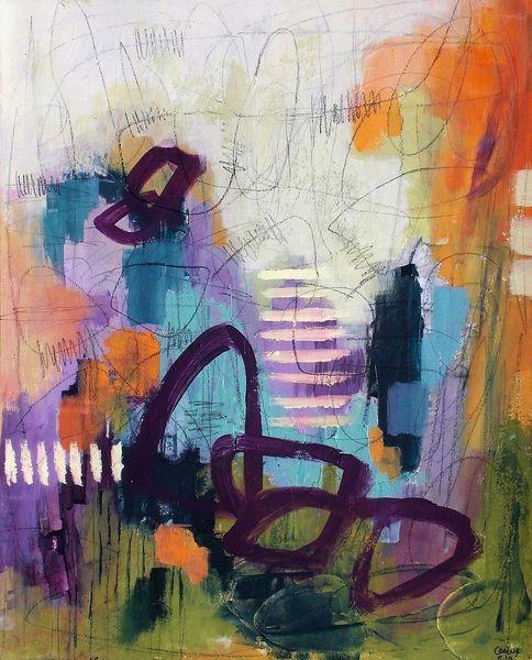 Abstrakt, Gemälde, Expressionismus, Intuitive, Gefühl, Intuition