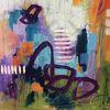 Abstrakt, Gemälde, Expressionismus, Intuitive