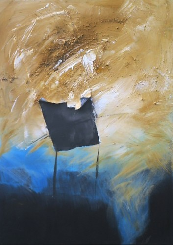 Acryl abstrakt, Malerei