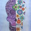 Blumen, Zeichnung, Gekritzel, Skul