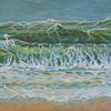Welle, Grün, Farben, Wasser