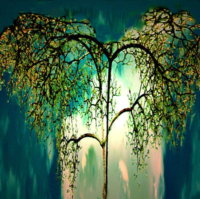Pflanzen, Baum, Digitale kunst