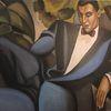 Portrait, Homage lempicka, Ölmalerei, Dekadent