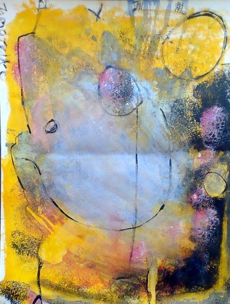 Abstrakt, Mai, Malerei, Moment