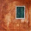 Toskana, Fenster, Wand, Malerei