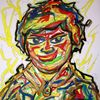 Merkel, Malen, Fälschungssicher, Kunst werner reiter