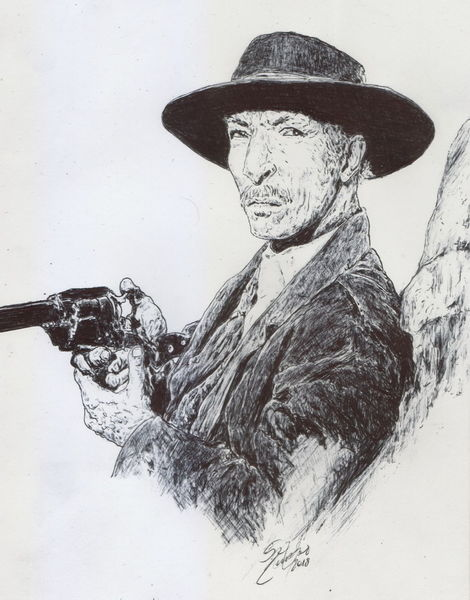 Lee van cleef, Western, Hollywood, Italowestern, Spaghettywestern, Cowboy