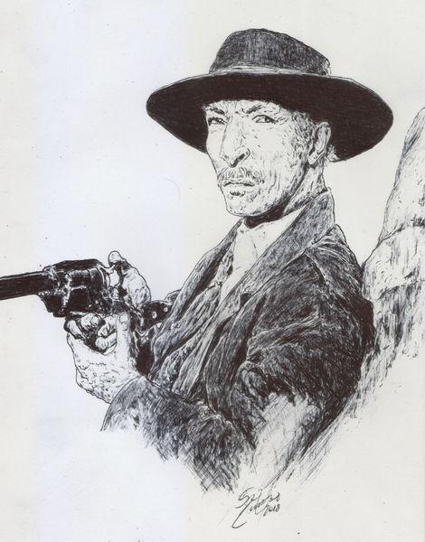Smithwesson, Spaghettywestern, Pistole, Lee van cleef, Western, Cowboy