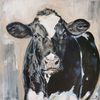 Kuh, Holsteiner, Rind, Milchkuh