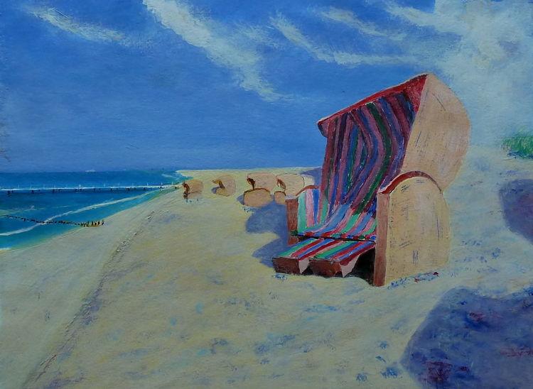 Boot, Impressionismus, Wind, Prerow, Wasser, Ostsee