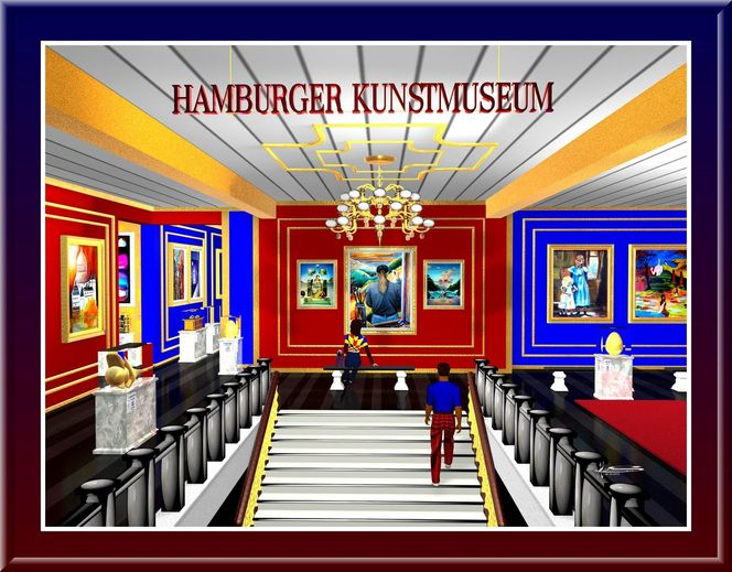 Grafik, Digitale kunst, Museum, Hamburger kunsthalle, Kunsthaus, Digital