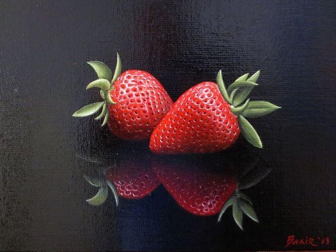 Ölmalerei, Stillleben, Realismus, Malerei