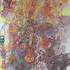 Neokubismus, Arzt, Abstrakte kunst, Tusche auf papier