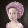 Turban, Portrait, Ölmalerei, Mädchen