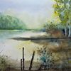 Landschaft, Atmosphäre, Baum, Stimmung