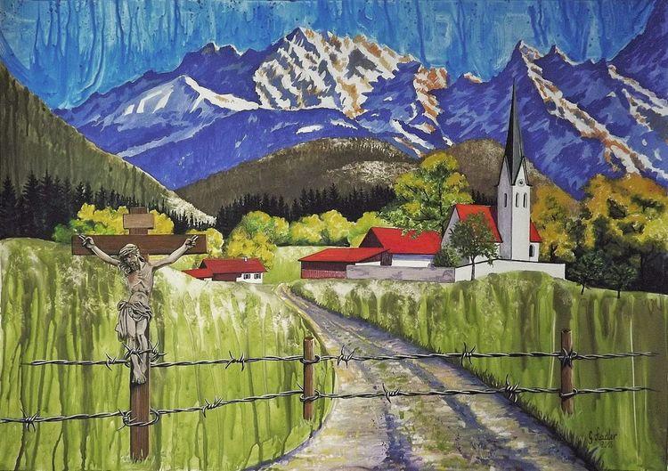 Berge, Katholisch, Landschaft, Bayer, Asyl, Seehofer