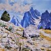 Berge, Südtirol, Gebirgsmalerei, Natur