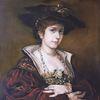 Fritz august kaulbach, Ölmalerei, Portrait, Kopie