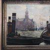 Hamburg, Stronner strommer impressionistisch, Suche, Hafenszene
