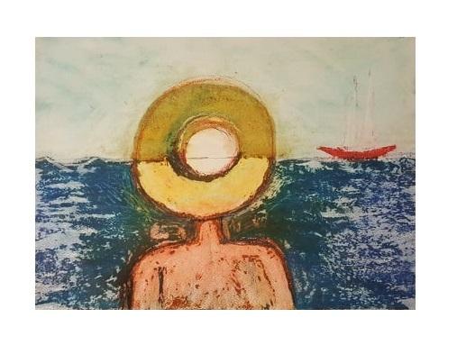 Sonne, Das meer, Schiff, Boot, Fischer, Himmel
