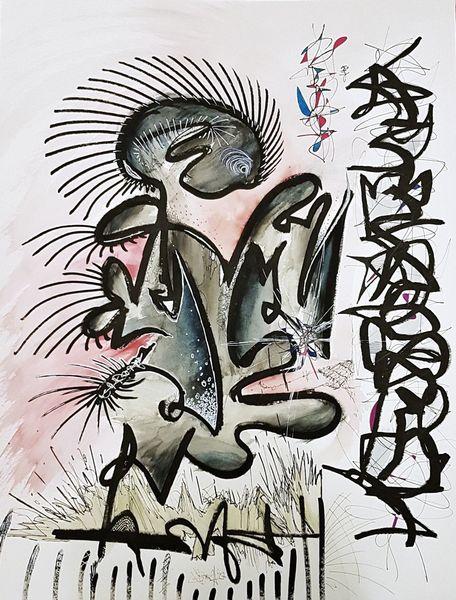 Abstrakt, Bunt, Farben, Laaas, Malerei