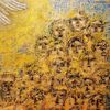 Fenster zur ewigkeit, Märtyrer, Hand gottes, Ölmalerei