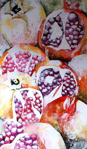 Malerei, Granatäpfel