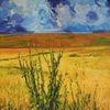 Ausdruck, Wolken, Farben, Licht